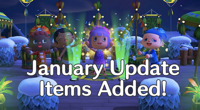 January update announcement image