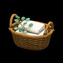 Rattan Towel Basket | Animal Crossing Item and Villager ...