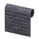 In-game image of Black-brick Wall