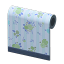 In-game image of Blue Flower-print Wall