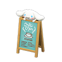 In-game image of Cinnamoroll Signage