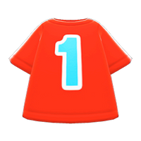 In-game image of No. 1 Shirt