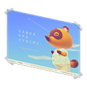 In-game image of Nook Inc. Poster
