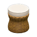 Rattan Stool | Animal Crossing Item and Villager Database ...