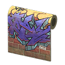 In-game image of Street-art Wall