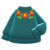 Picture of Flower Sweater