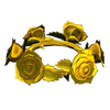 Picture of Gold Rose Crown