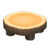 Picture of Log Round Table