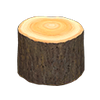 Picture of Log Stool