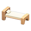 Picture of Wooden-block Bed