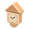 Picture of Wooden-block Wall Clock