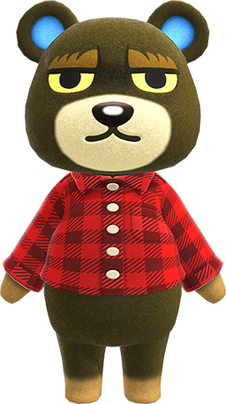 Grizzly | Animal Crossing Item and Villager Database ...
